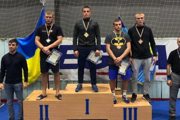 Прикарпатські спортсмени стали чемпіонами з вільної боротьби