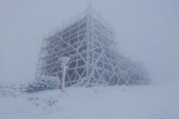 Карпати засипало снігом (Фото)
