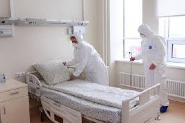 На Прикарпатті завантаженість ліжок для пацієнтів з Covid-19 не перевищує 55%